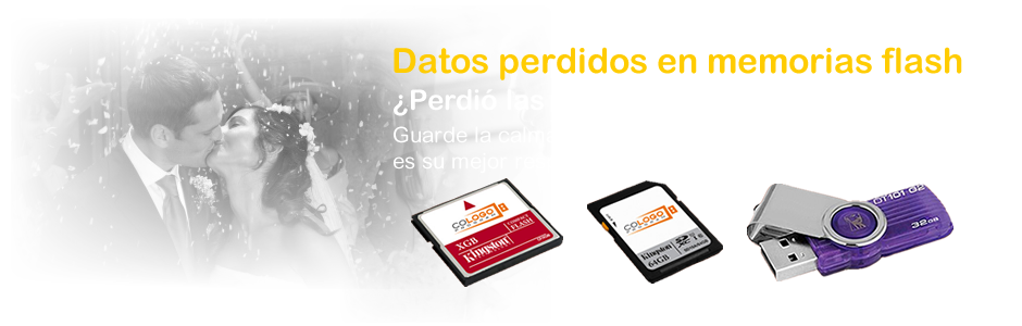 Datos perdidos en memorias flash